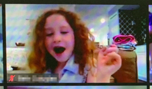 Belly laughs during The Great Zucchini virtual magic and comedy show!