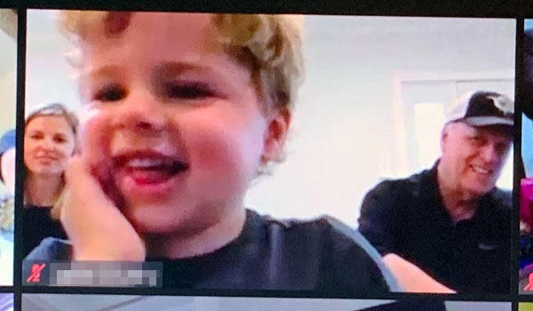 Kids love The Great Zucchini virtual magic and comedy show!